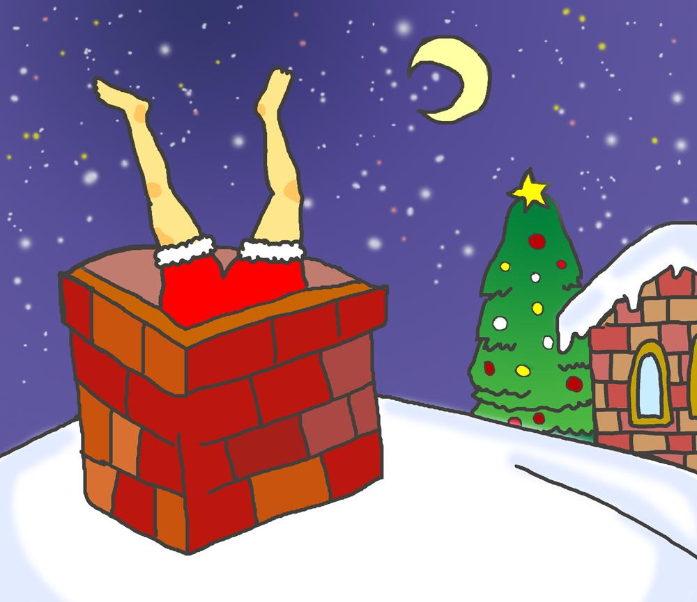 クリスマスの夜の事件