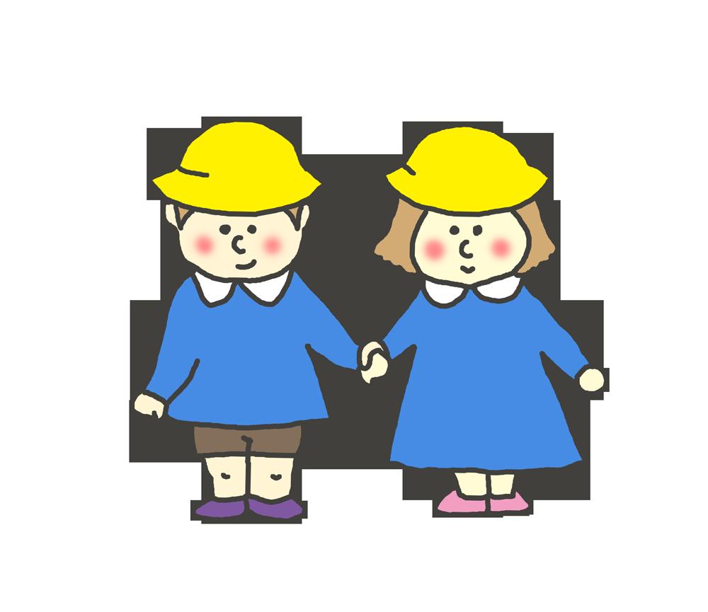幼稚園・保育園生のイラスト