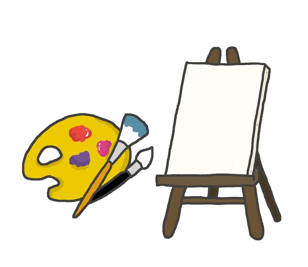 美術のイラスト