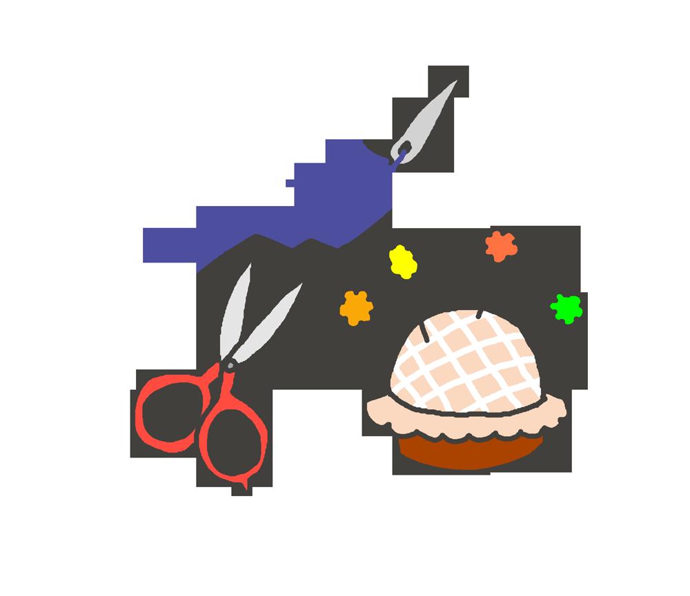 手芸道具のイラスト