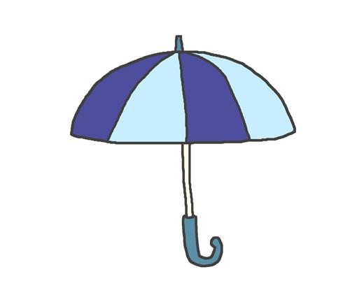雨マークのイラスト