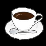 ブラックコーヒーのイラスト