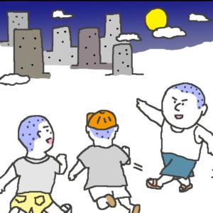 四コマ漫画『おじいちゃんの怖い話』
