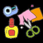 工作道具のイラスト