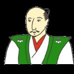 織田信長の似顔絵イラスト