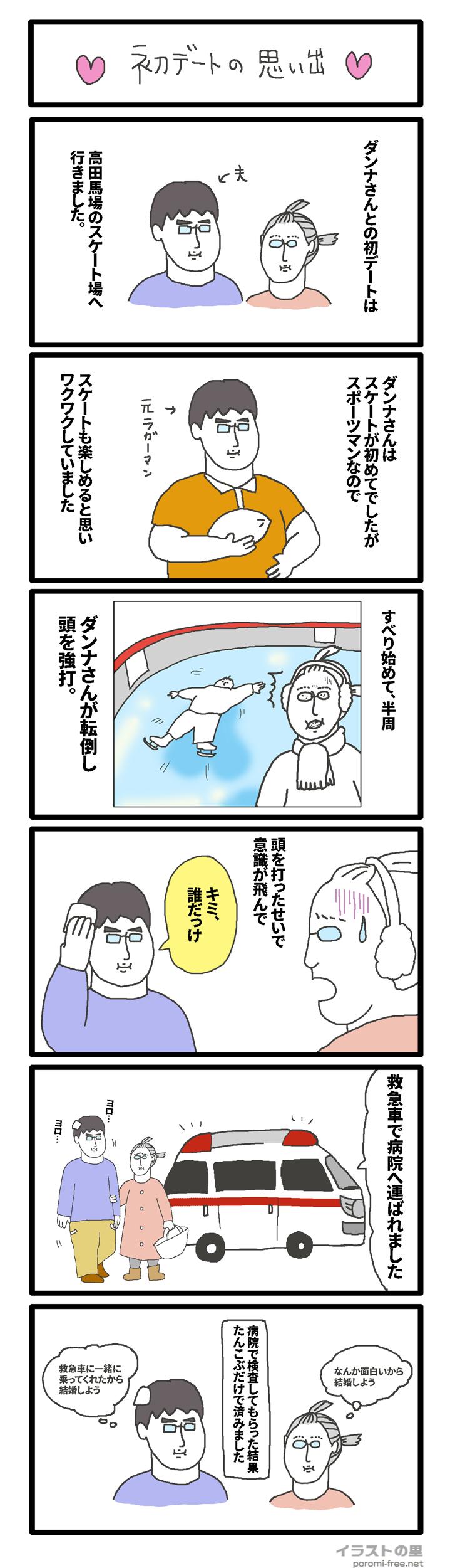 漫画「初デートの思い出」