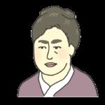 津田梅子の似顔絵イラスト