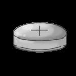 ボタン電池のイラストのアイキャッチ画像