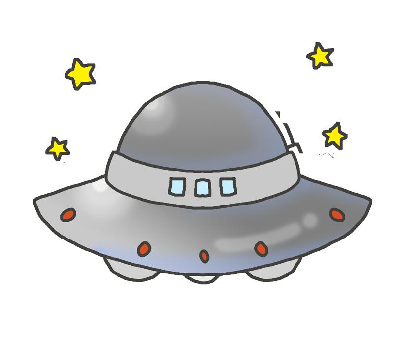 UFOのイラスト