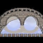 眼鏡橋のイラスト