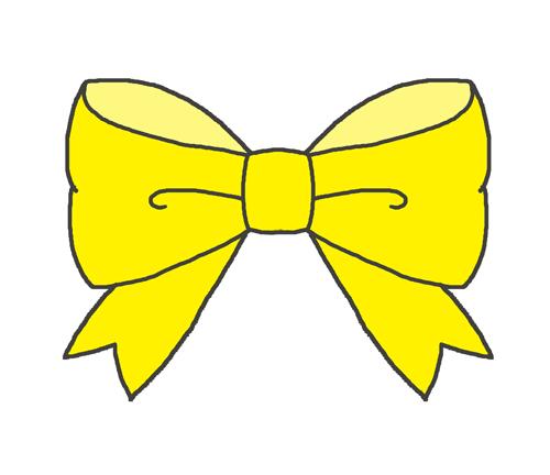 黄色のリボン