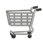 ショッピングカートのイラスト