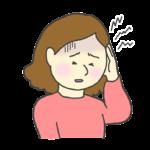 頭痛のイラスト