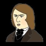 シューマンの似顔絵イラスト