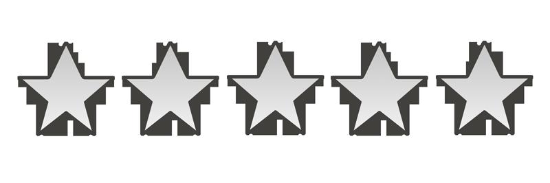 星の数0個のイラスト