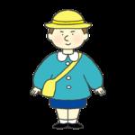 幼稚園児の男の子のイラスト