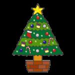 クリスマスツリーのイラスト
