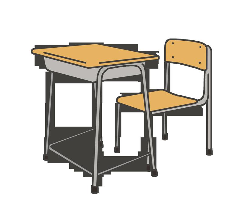 学校机のイラスト