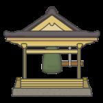 梵鐘のイラスト