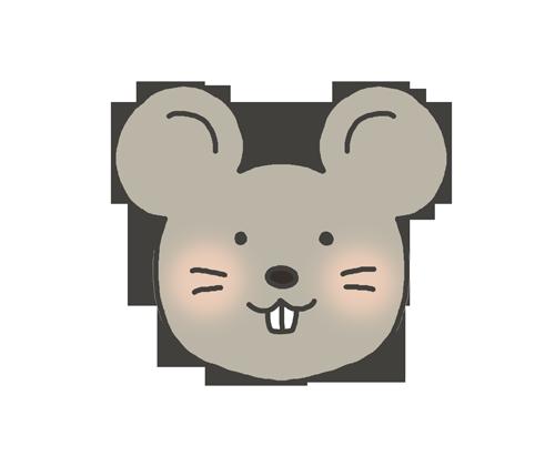 鼠のイラスト