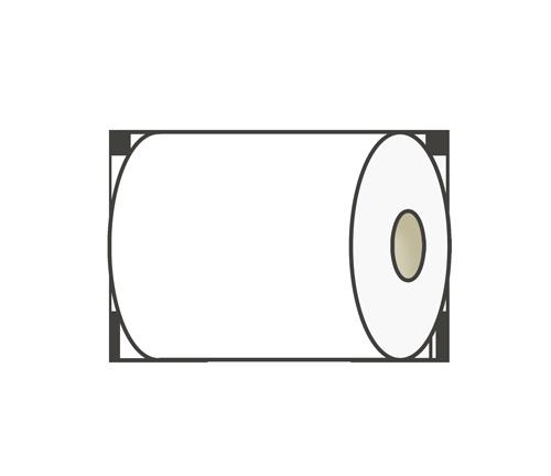 トイレットペーパーのイラスト(普通)
