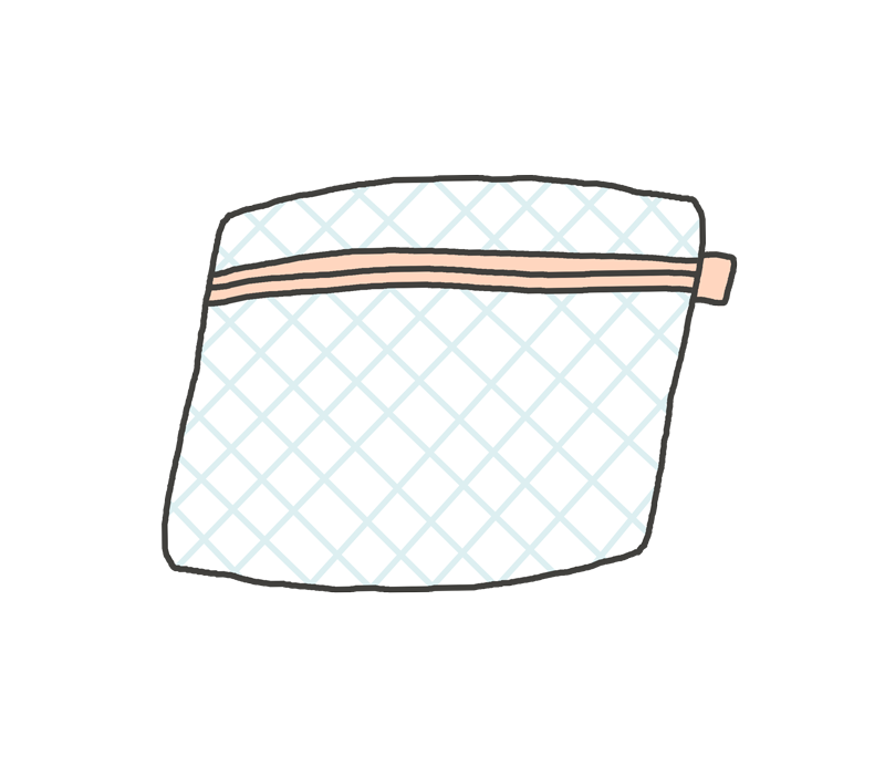 洗濯ネットのイラスト