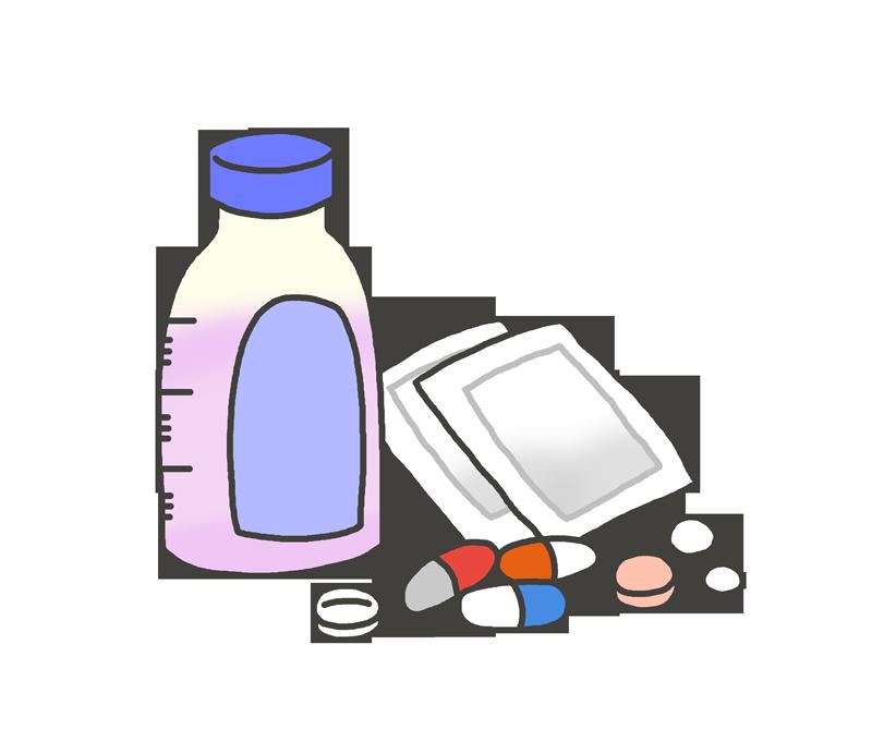 色々な薬のイラスト