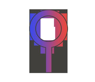 中性の性別記号のイラスト