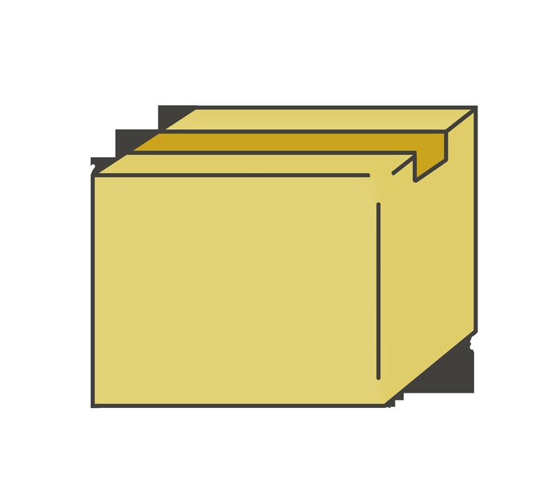 段ボール箱のイラスト