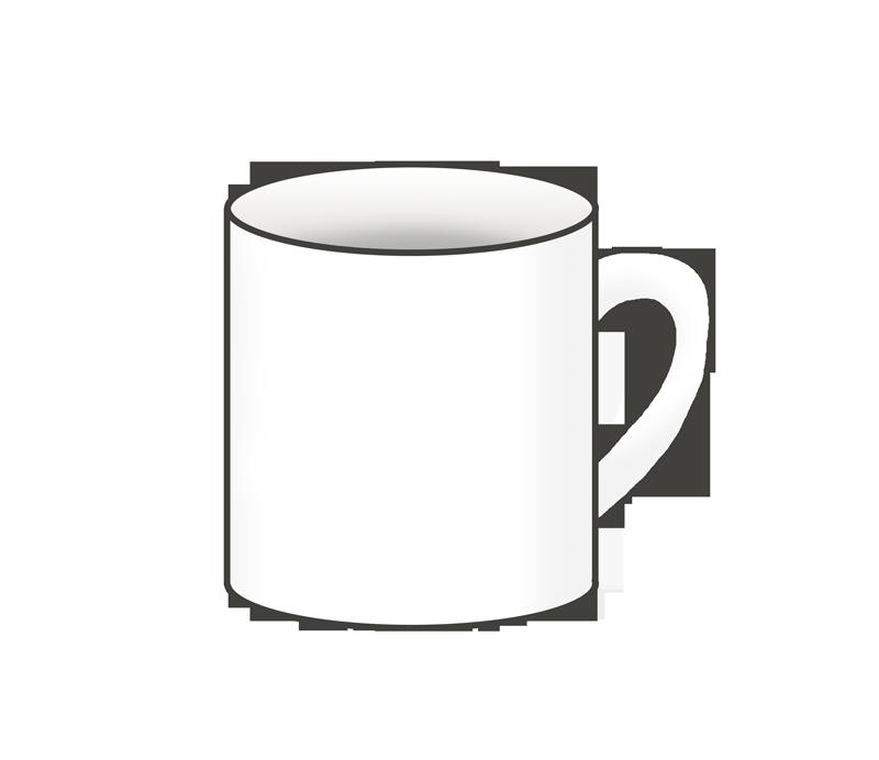 マグカップのイラスト