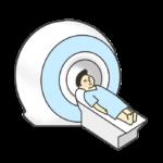 CT.MRI検査のイラスト(男性)