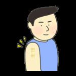 BCG/ハンコ注射のイラスト
