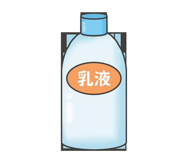 乳液のイラスト