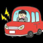 危険運転のイラスト