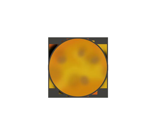 金星のイラスト