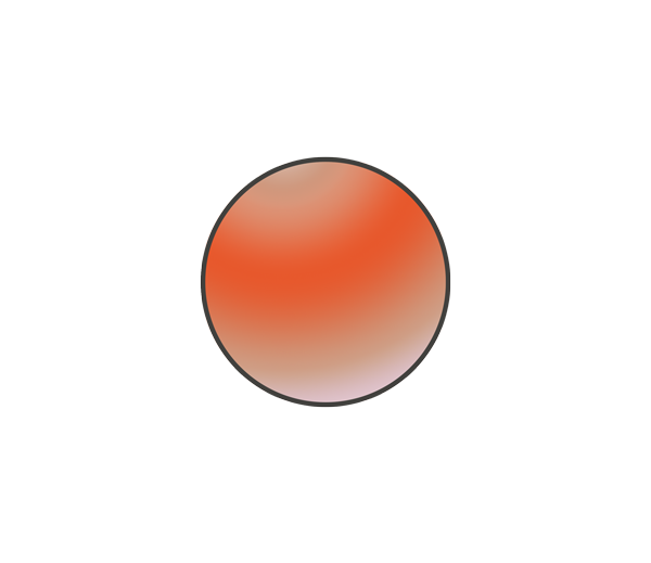火星のイラスト