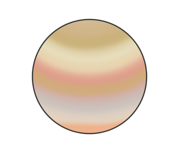 木星のイラスト