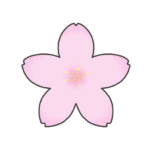 さくらの花びらのイラスト