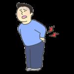 腰痛・ギックリ腰のイラスト