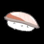 ハマチ・ブリのお寿司のイラスト