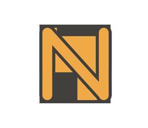 Nの文字イラスト