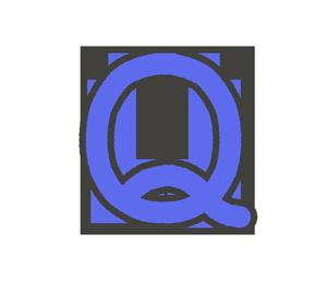 Qの文字イラスト