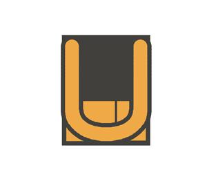 Uの文字イラスト