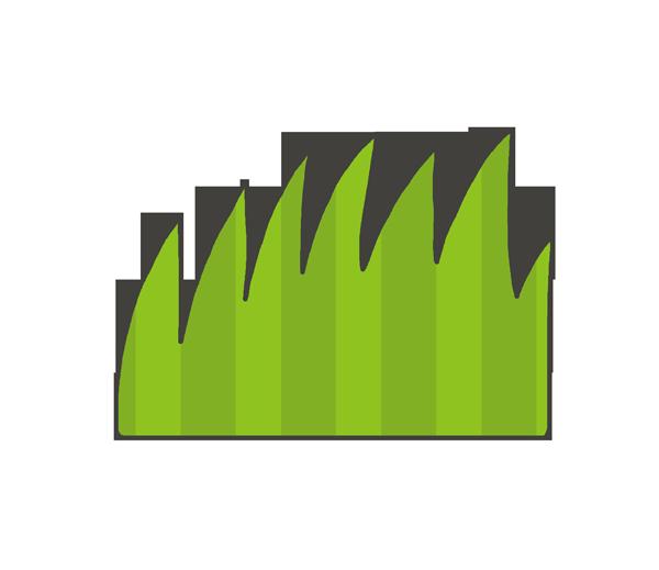 草・雑草のイラスト