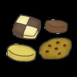 いろいろなクッキー(お菓子)のイラスト