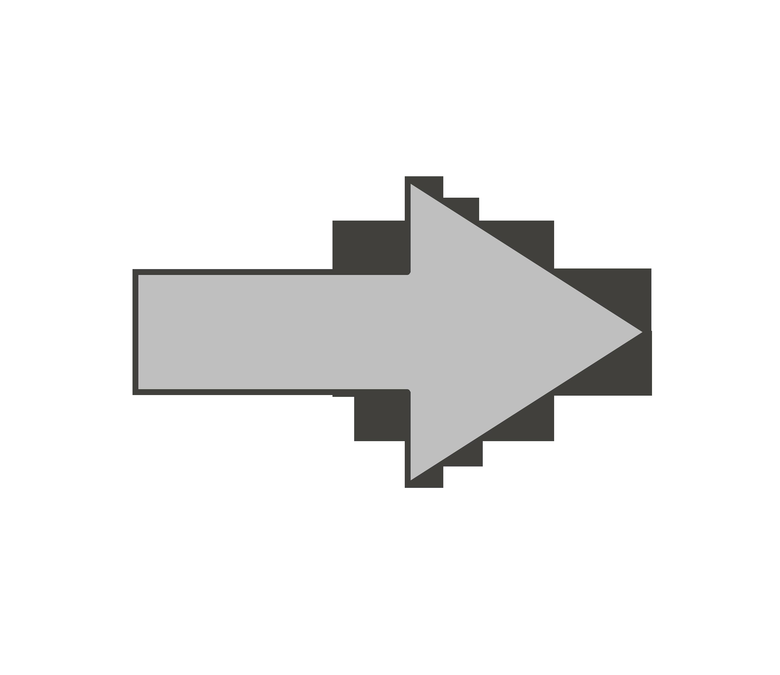 矢印のイラスト(右)