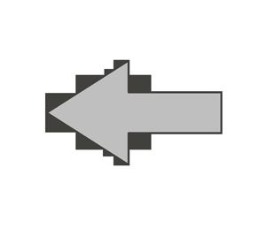 矢印のイラスト(左)