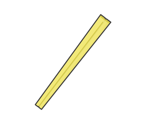 割り箸のイラスト