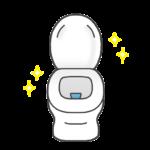 キレイなトイレのイラスト