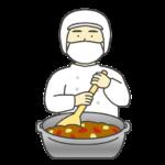 調理員のイラスト(男性)